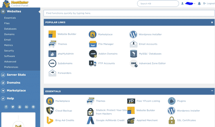 Cpanel HostGator Domainhostcoupon