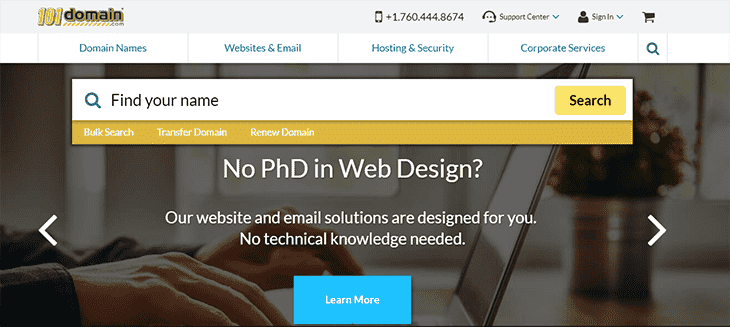 101Domain website - domainhostcoupon