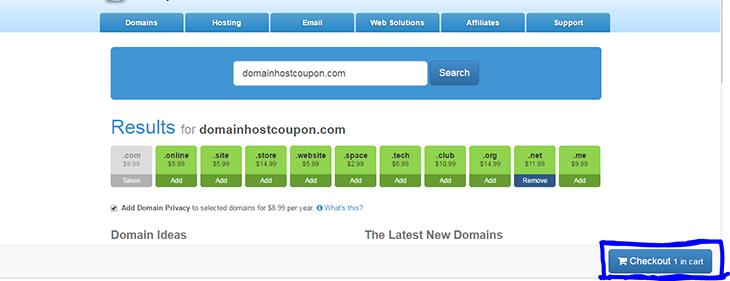 Buy Domain on MYDOmain - domainhostcoupon