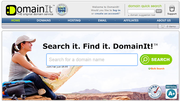 DomainIT Registrar Offical Website