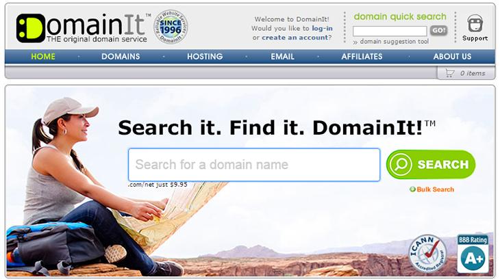 DomainIT Registrar Offical Website