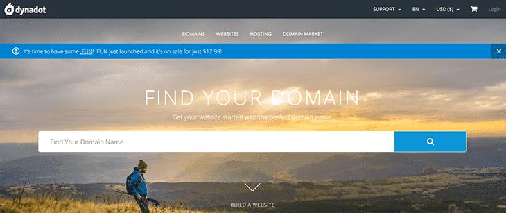 Dynadot offical website