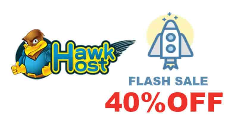 Hawkhost Flash sale - domainhostcoupon