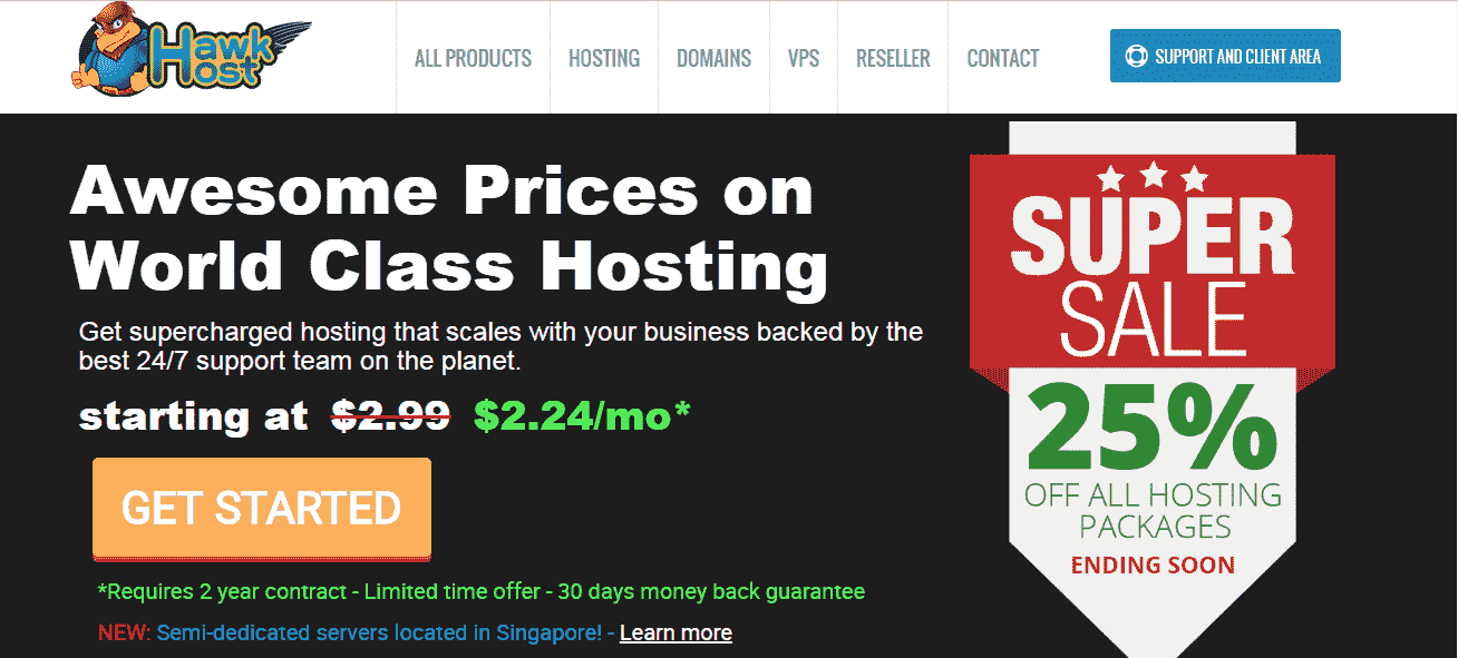 Hawkhost reviews domainhostcoupon