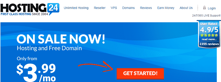 Host24 Website
