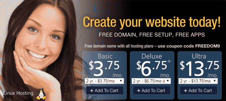 Hosting Plans MyDomain