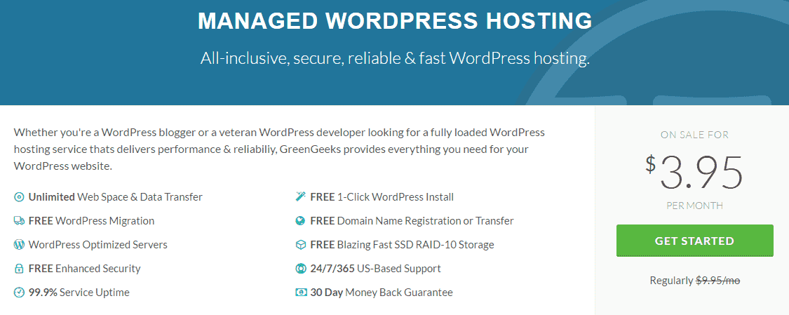 Save Off WP hosting GreenGeeks Domainhostcoupon