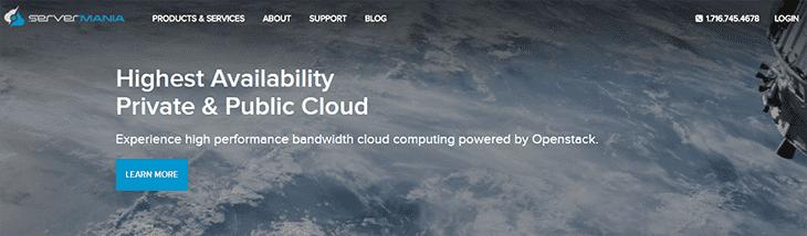 ServerMania Website