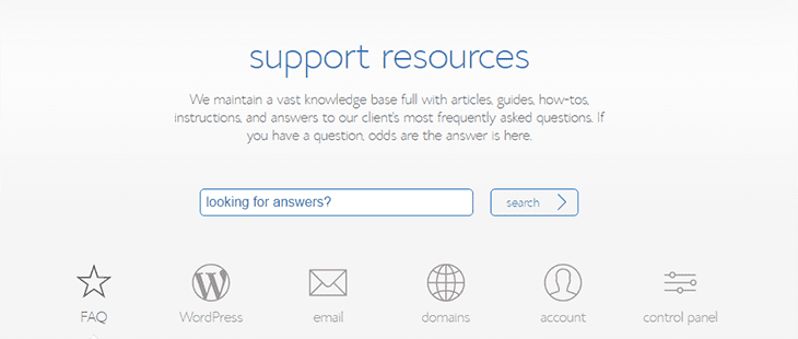 Support Service BlueHost