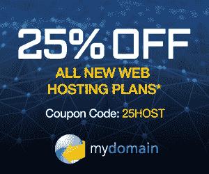 MyDomain Hosting Coupon