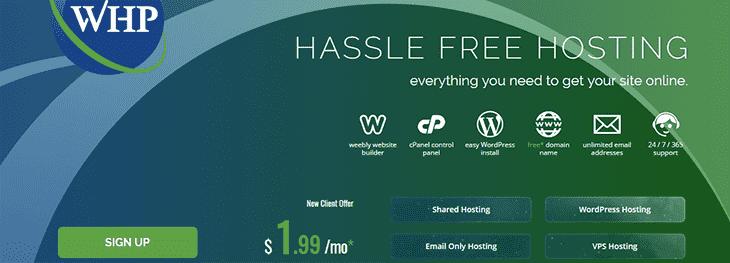 WebhopstingPad website