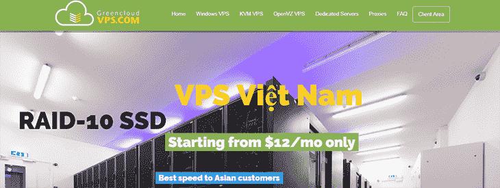 GreenCloudVPS Website