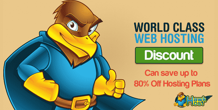 HawkHost Discount Codes for promotion