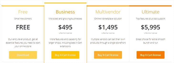 Ecommerce Software at Xcart