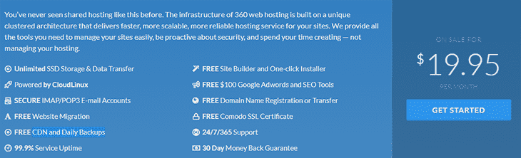 Shared Hosting at BlessHosting