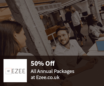 50% Off Ezee.co.uk Coupon all annual packages