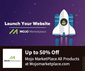 50% Off MOJOMarketplace Coupon Code & WP Live PRO Promo Codes