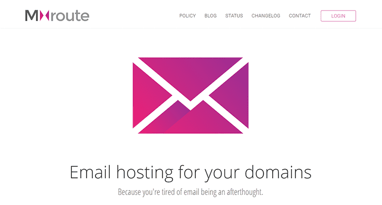 Mxroute is the leading address which provide domain names emails
