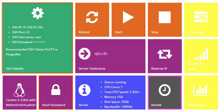 ssh vps hosting