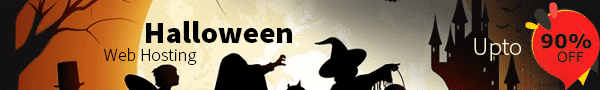 Web Hosting Halloween Coupon Up to 90% Off All Web hosting plans
