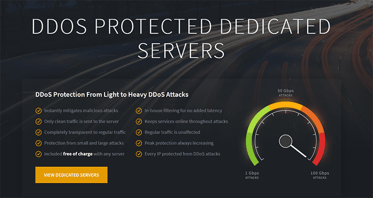 reliablesite ddos protection